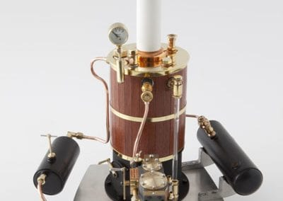 model steam engine boiler
