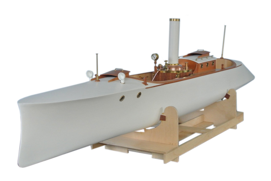 model steam boat kits Fast Steam Launch Project-X
