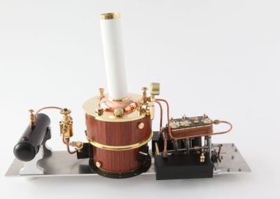 model steam unit Fast Steam Launch Project-X